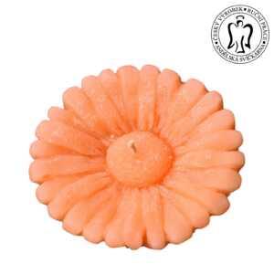 Velká plovoucí svíčka, Gerbera oranžová, Andělská svíčkárna, svíčky, Big floating candle, flower Angels candles 00