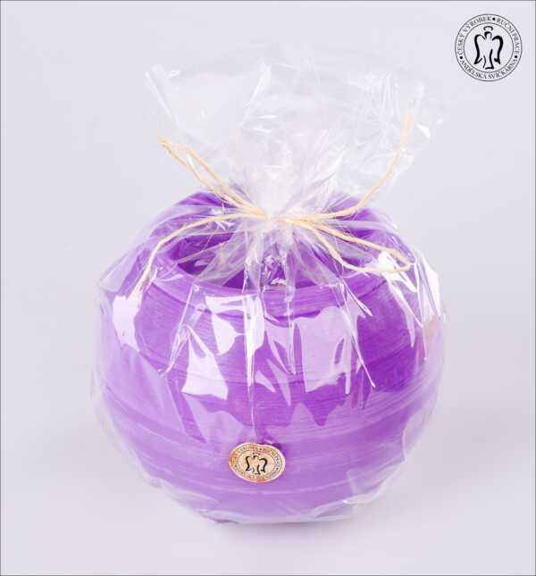 Velká svíčka, víceknotá - koule se třemi knoty, s parfemací