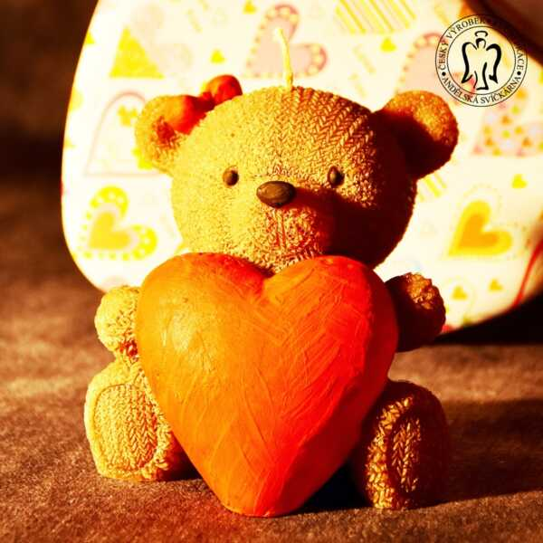 Medvídek se srdcem, Andělské svíčky_20