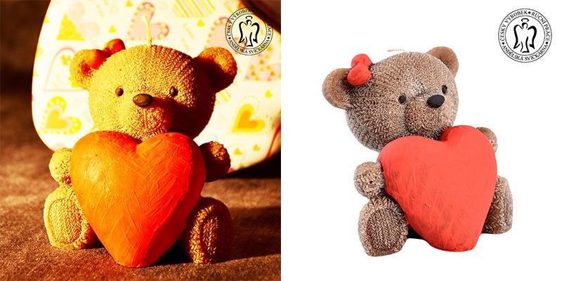 Medvídek se srdcem